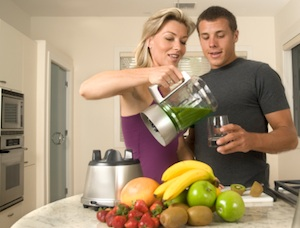 Couple Blender Breakfast Smoothie Simplify Your Life With An Easy Nutritious Breakfast
