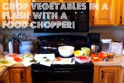 Save Time In The Kitchen With A Food Chopper