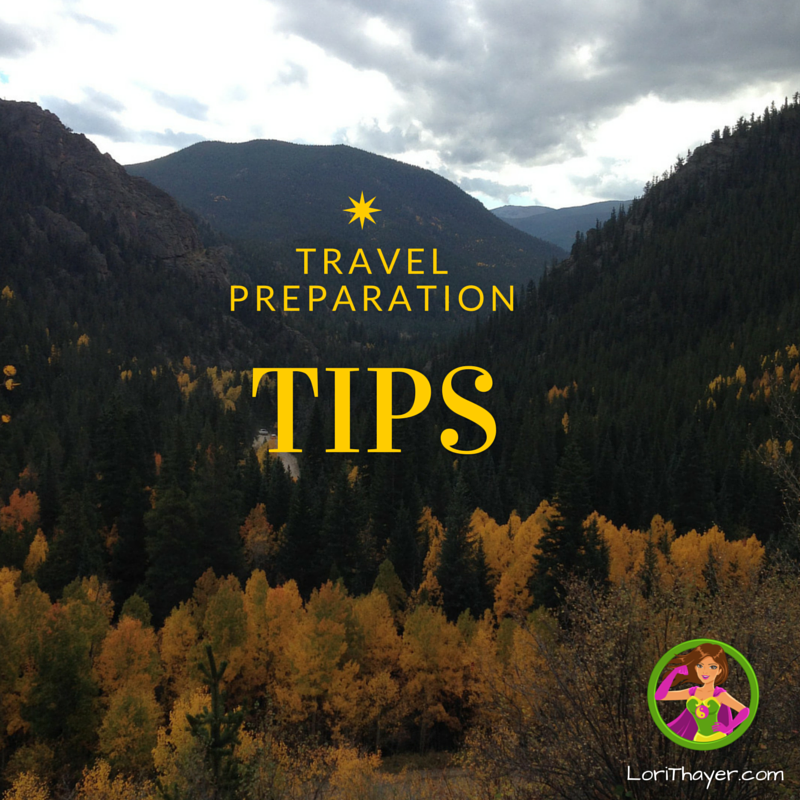 travel tips preparation