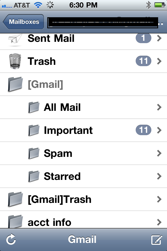 How to set up different email accounts on iphone